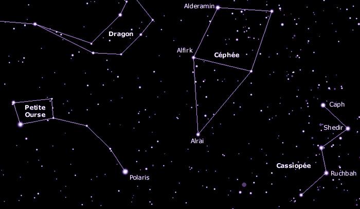 Favori Au Clair Stellaire - Principales Constellations - Autour de l  RY23