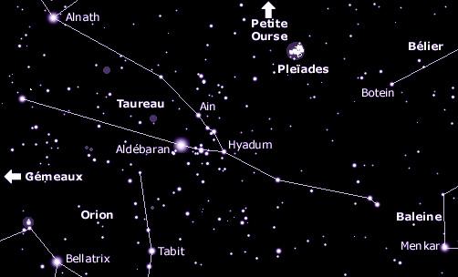 Souvent Au Clair Stellaire - Principales Constellations - Taureau BH18